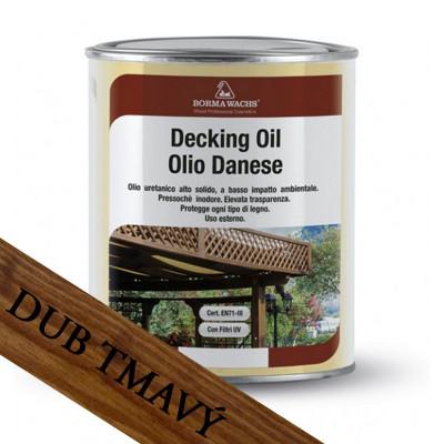 Borma Wachs Dánský olej na dřevo dub tmavý 1L