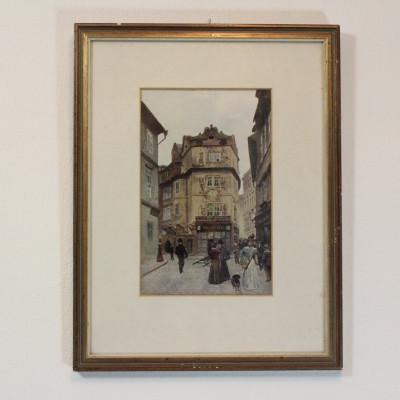 Obraz Praha reprodukce