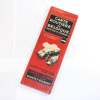 Automapa Belgie 1937