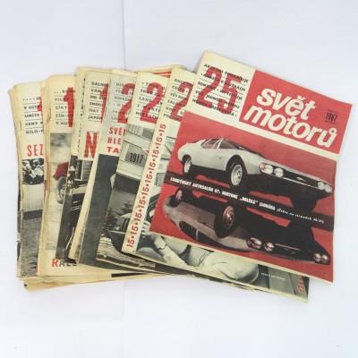 Svět motorů 1967 20ks