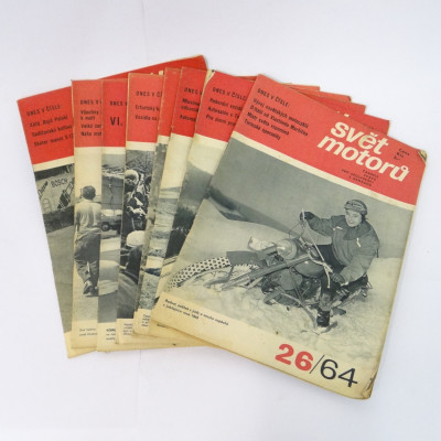 Svět motorů 1964 8ks