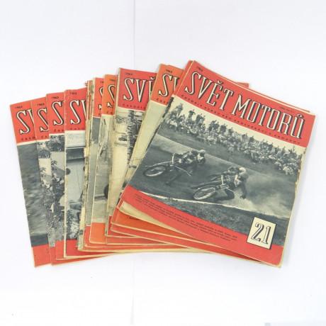 Svět motorů 1963 28ks