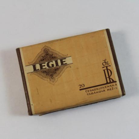 Krabička od cigaret Legie 1930 ,