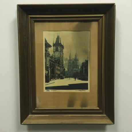 Obraz Praha Staroměstská radnice