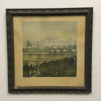 Obraz Praha Karlův most Hradčany