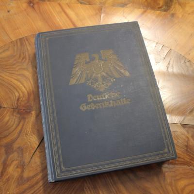 Kniha Deutche Gedenkhalle