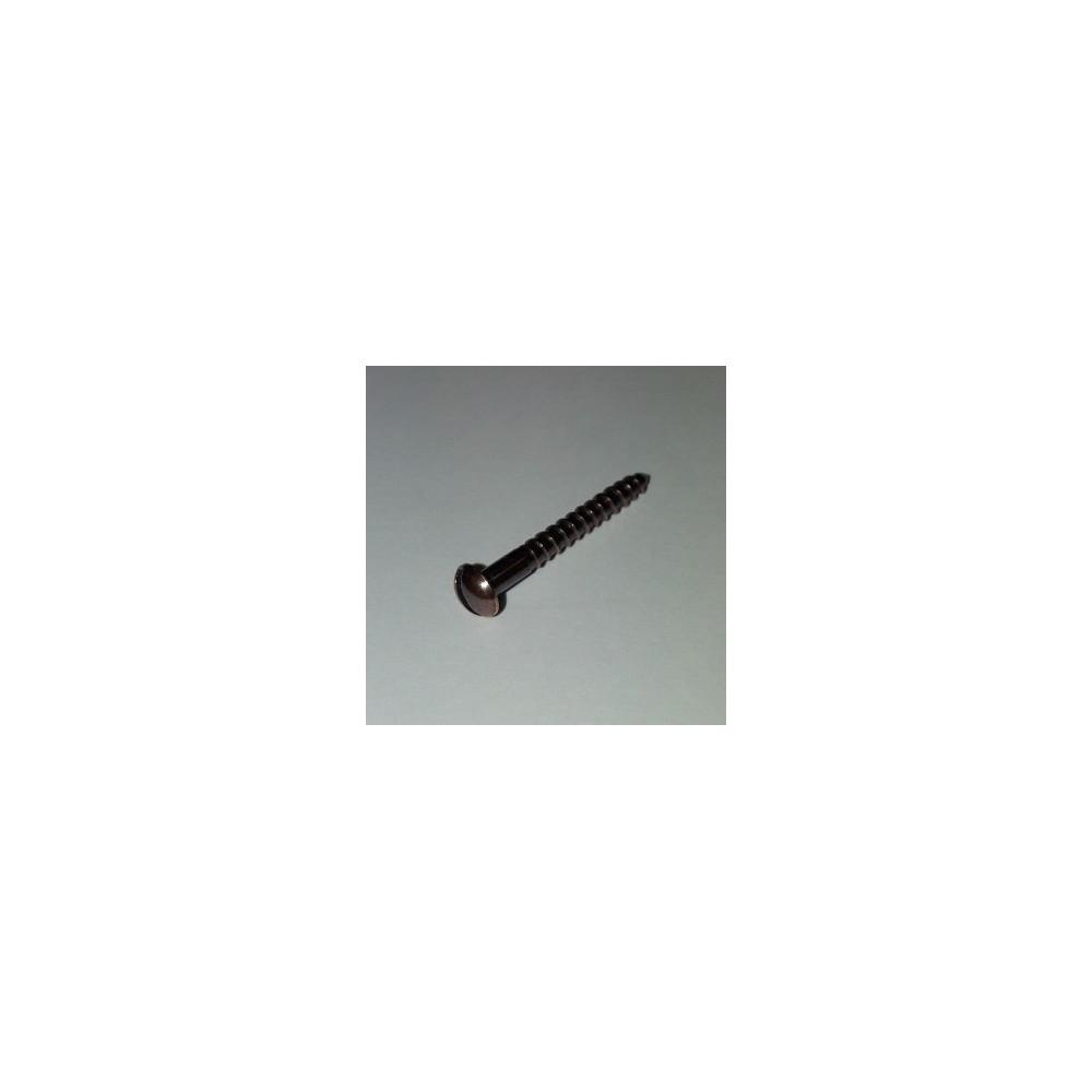 Šroubek  16mm mosaz patina