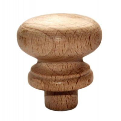 Dřevěný úchyt - ø 40 mm - kulatý