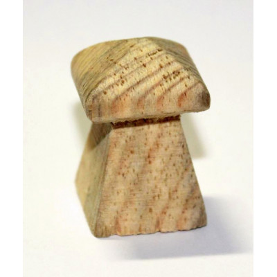 Dřevěný úchyt - věž, malá