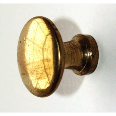 Úchyt kulatý - mosaz - ø 23 mm