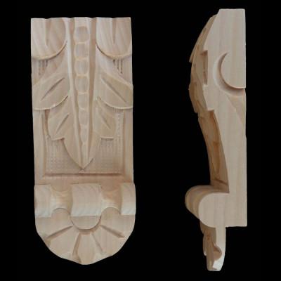 Ozdoba list s patkou nízký - š. 50 mm