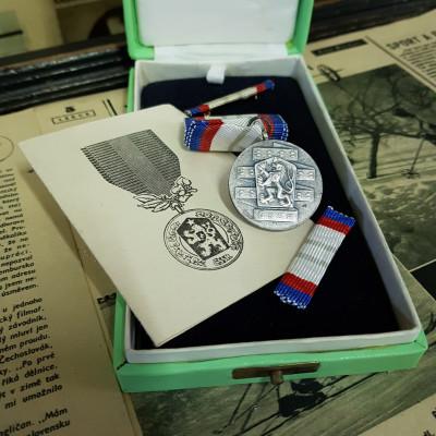 Medaile ČSSR