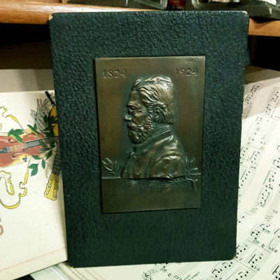 Plaketa Bedřich Smetana