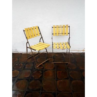 Rozkládací židle 2ks