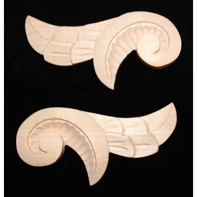 Ozdoba - křídlo pravé i levé