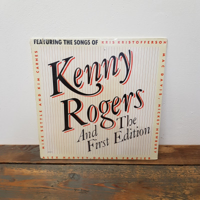 LP Kenny Rogers  And the first edition