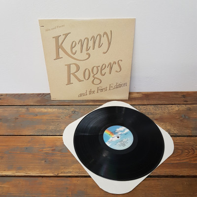 LP Kenny Rogers Hits and Pieces