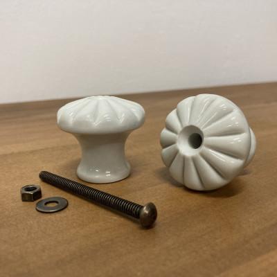 Nábytková porcelánová knopka KLASIK 42mm
