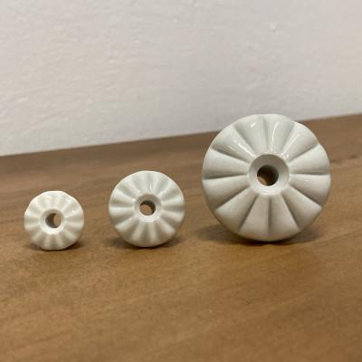 Nábytková porcelánová knopka KLASIK 20mm