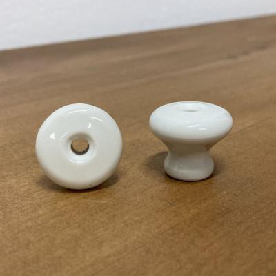 Nábytková porcelánová knopka 25mm