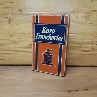 Karo-Franckovka plechová krabička